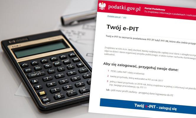 Twój e-PIT nie dla wszystkich